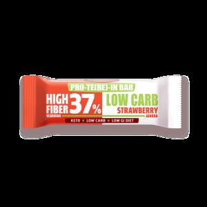 Keto tyčinky PRO-TE(BE)-IN Low carb jahoda  35 g