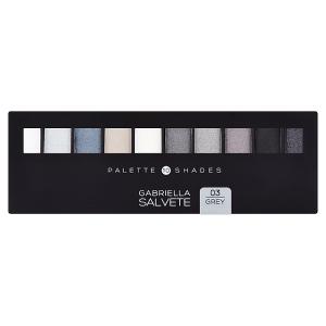 Gabriella Salvete Paleta 10 očních stínů 03 grey 12g