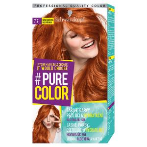 Schwarzkopf Pure Color barva na vlasy Zářivá Skořicová 7.7