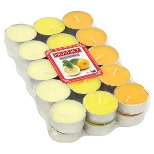 Provence Čajová vonná svíčka citrón 30 ks
