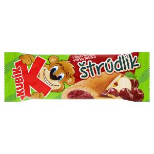 Kubík Štrúdlík višeň/jablko 21g