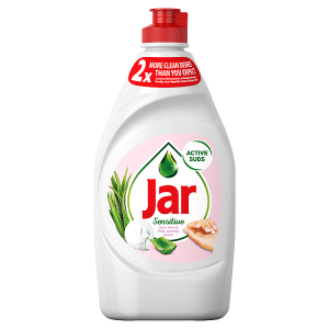 Jar Sensitive Aloe Vera&Pink Jasmin Tekutý Prostředek Na Nádobí 450ml