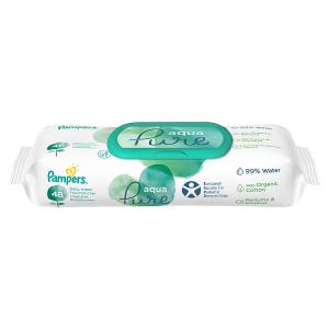 Pampers Aqua Pure Dětské Čisticí Ubrousky 1 Balení = 48 Ubrousků