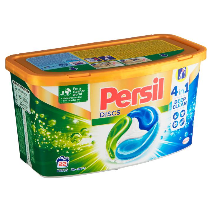 Persil Discs koncentrovaný předdávkovaný prací prostředek 22 praní 550g Persil