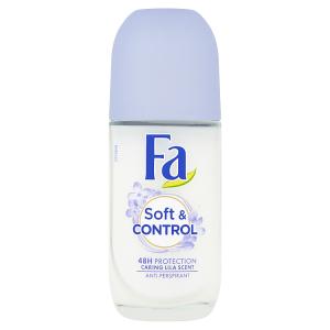 Fa kuličkový antiperspirant Soft & Control Caring Lila Scent 50ml