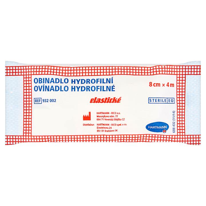 Hartmann Obinadlo hydrofilní elastické 8 cm x 4 m Hartmann