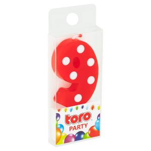 Toro Party Svíčka číslice zapichovací