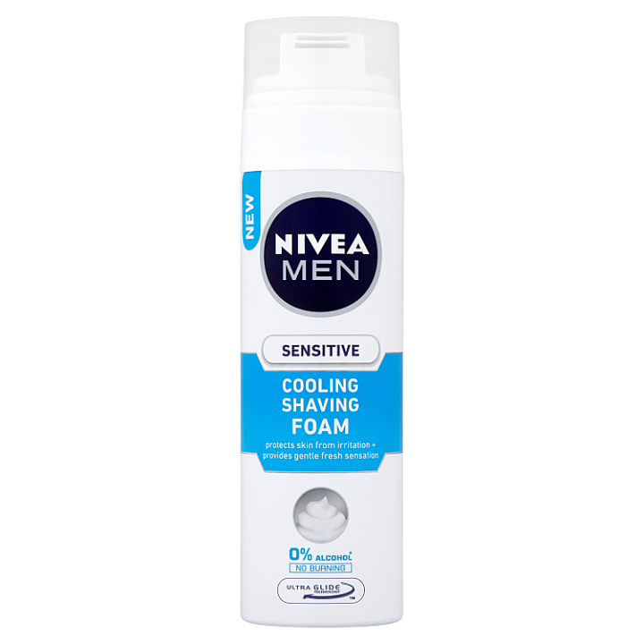 Nivea Men Sensitive Cooling Pěna na holení 200ml
