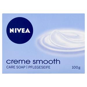 Nivea Creme Smooth Pečující krémové mýdlo 100g