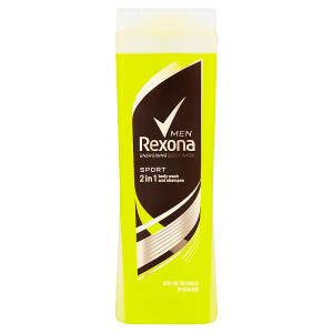 Rexona Osvěžující pánský sprchový gel a šampon 2v1 Sport 400ml