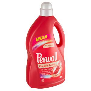Perwoll Renew & Repair Color & Fiber prací prostředek 60 praní 3,6l