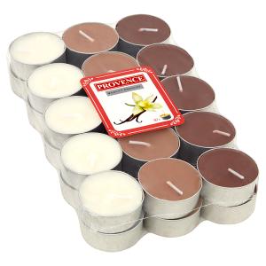 Provence Čajová vonná svíčka vanilka 30 ks