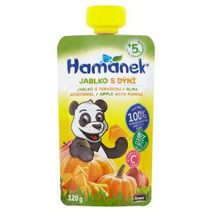 Hamánek Kojenecká výživa jablko s dýní 120g