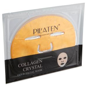 Pilaten Křišťálová kolagenová maska na obličej zlatá