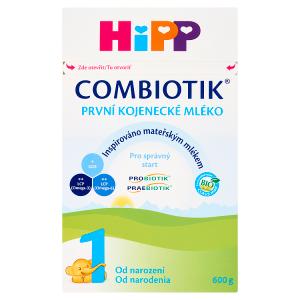 HiPP Combiotik 1 bio první kojenecké mléko 600g