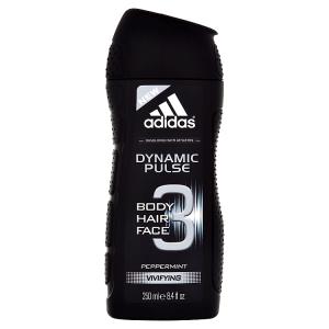 Adidas Dynamic Pulse Peppermint sprchový gel na tělo, tvář & vlasy 250ml
