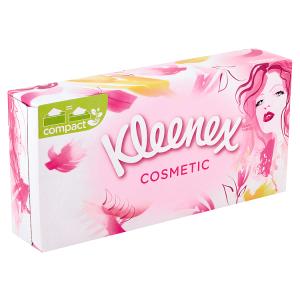 Kleenex Cosmetic papírové kapesníky 3-vrstvé 80 ks