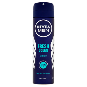 Nivea Men Fresh Ocean Sprej deodorant 150ml