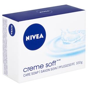 Nivea Creme Soft Pečující krémové mýdlo 100g