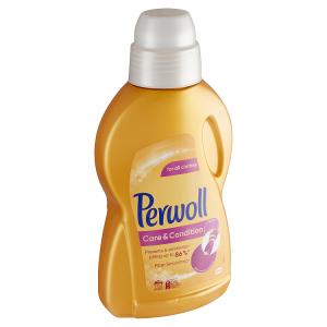PERWOLL prací prostředek Care & Condition 15 praní, 900ml