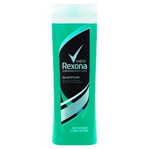 Rexona Osvěžující pánský sprchový gel a šampon 2v1 Quantum 400ml