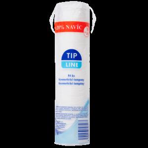 Tip Line Kosmetické tampony 84 ks