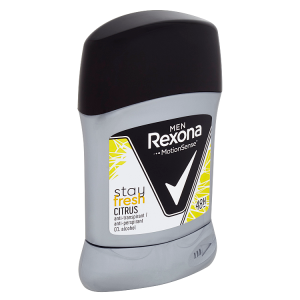 Rexona MEN Stay fresh Citrus tuhý antiperspirant pro muže 50ml