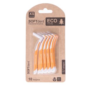 SOFTdent ECO Mezizubní Kartáček L 0,4 mm,10 ks