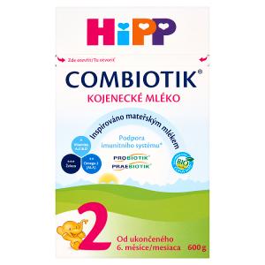 HiPP Combiotik 2 bio kojenecké mléko 600g
