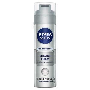 Nivea Men Silver Protect Pěna na holení 200ml