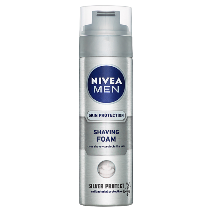 Nivea Men Silver Protect Pěna na holení 200ml