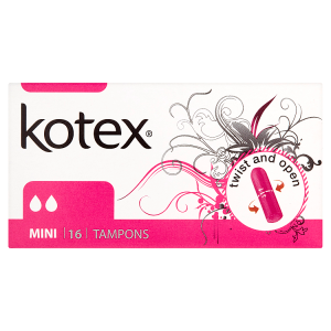 Kotex Mini tampóny 16 ks