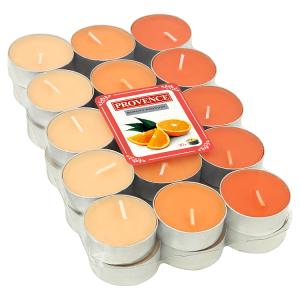 Provence Čajová vonná svíčka pomeranč 30 ks