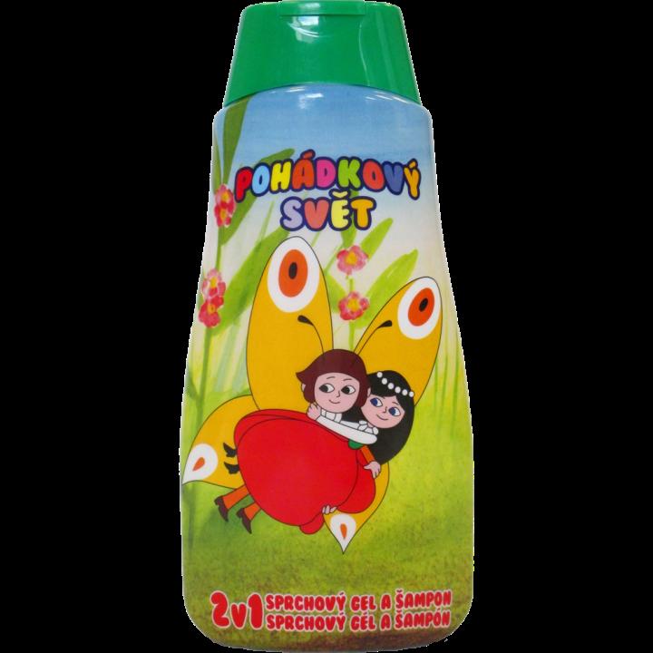 Pohádkový svět Sprchový gel a Šampón Maková panenka 500 ml