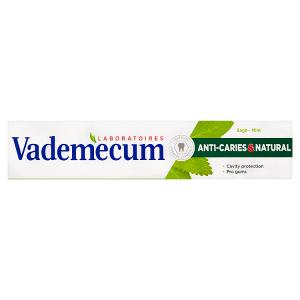 Vademecum zubní pasta Anti-Caries & Natural 75ml