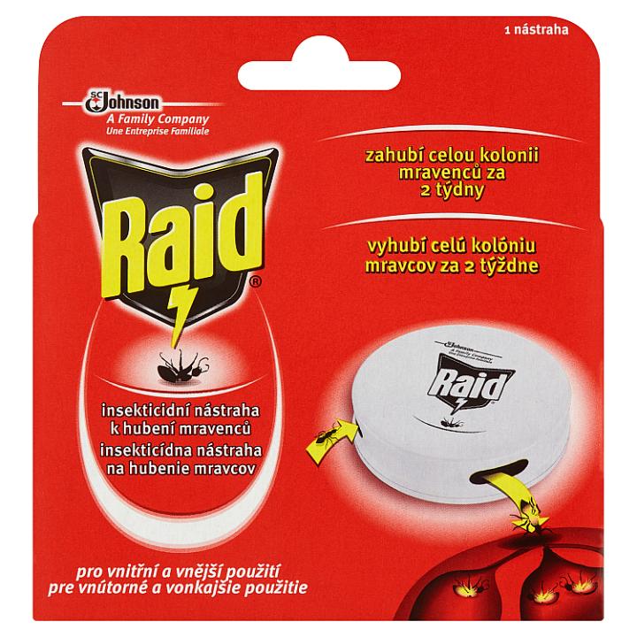 Raid Insekticidní nástraha k hubení mravenců 1 nástraha 10ml