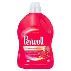 Perwoll Renew Advanced Effect Color & Fiber prací prostředek 45 praní 2,7l