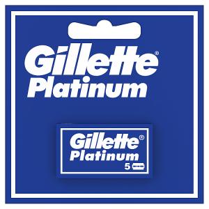 Gillette Platinum Žiletky Do Pánského Holicího Strojku, 5Ks