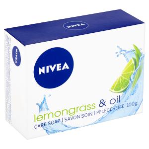 Nivea Lemongrass & Oil Pečující krémové mýdlo 100g