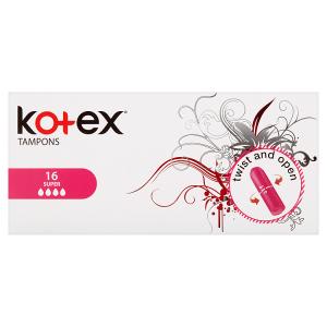 Kotex Super tampóny 16 ks