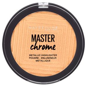 Maybelline New York Master Chrome 100 Molten Gold metalický rozjaňovač 9g