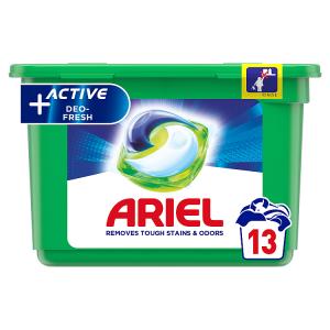 Ariel Allin1 Pods +Active Odor Defense Kapsle Na Praní 13 Praní