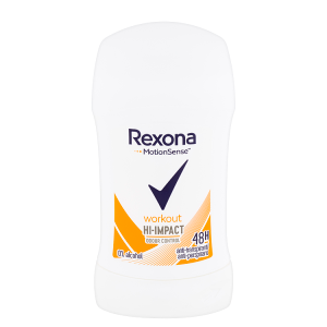 Rexona Tuhý antiperspirant Workout HI-impact 40ml