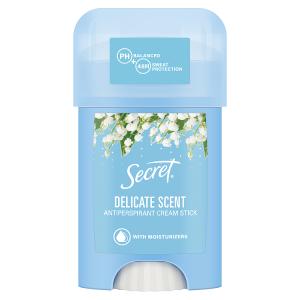 Secret Delicate Tuhý Krémový Antiperspirant Pro Ženy 40 ml