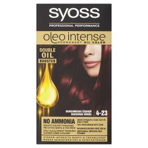 Syoss Oleo Intense dlouhotrvající olejová barva Burgundská Červeň 4-23