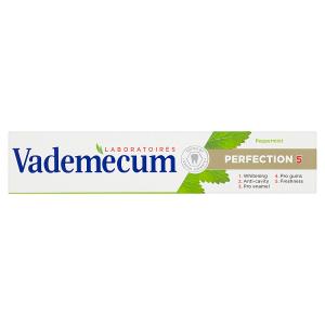 Vademecum zubní pasta Perfection 5 Peppermint 75ml