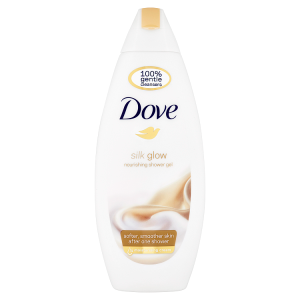 Dove Silk Glow Sprchový gel 250ml