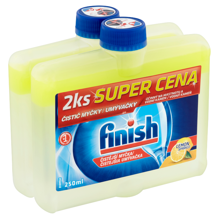 Finish Lemon čistič myčky 2 x 250ml