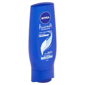 Nivea Hairmilk Pečující kondicionér pro normální až silné vlasy 200ml