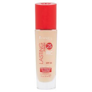 Rimmel London Lasting Finish 25h make-up 100 ivory 30ml